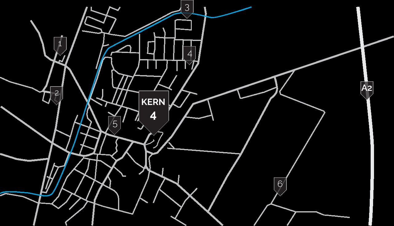 Kern 4 Map